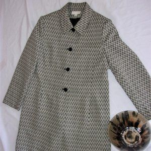 Lord & taylor womans large 14 dress trench jacket